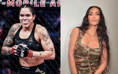 """Šampionka UFC """"vyzývá"""" na souboj v kleci Kim Kardashian. Pojďme vydělat desítky milionů jako youtubeři, směje se."""