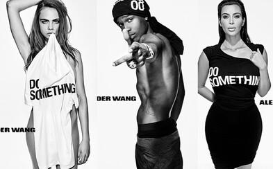 38 celebrit včetně Kim Kardashian či Cary Delevingne oslavilo 10. výročí značky Alexandra Wanga velkolepou kampaní
