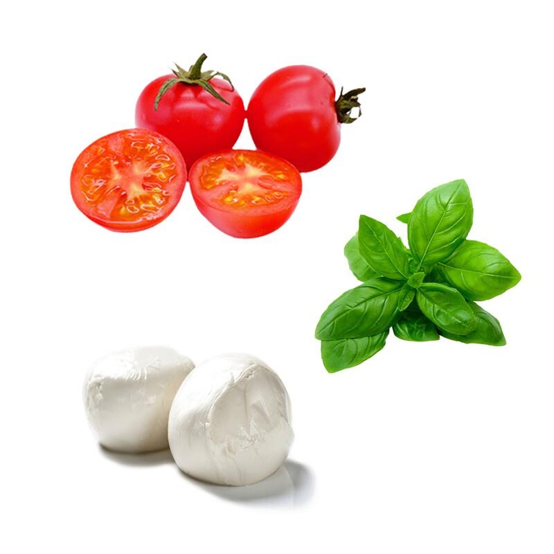Ako sa volá pizza, na ktorej by si našiel tieto suroviny?