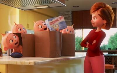 Postavy z Nema, Rodinky úžasných, Áut a ďalších legendárnych animákov od Pixaru ožívajú v novom seriáli na Disney.
