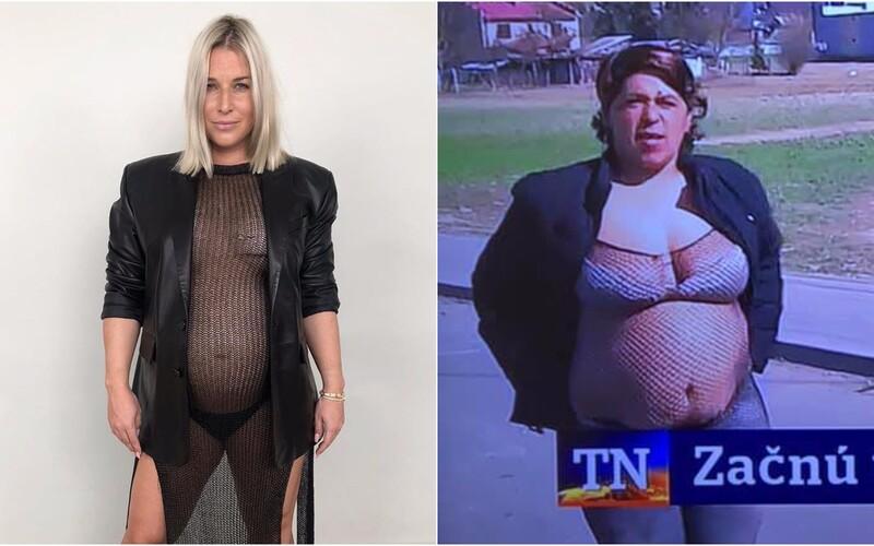 Dominika Cibulková sa odfotila polonahá v sieťke. Z jej fotky sa stalo chytľavé meme.