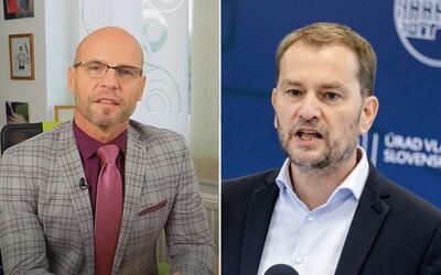 Igor Bukovský chce žalovať Matoviča za to, že ho premiér nazval bláznom. Podnikne právne kroky za osočovanie a ignorovanie ústavy.
