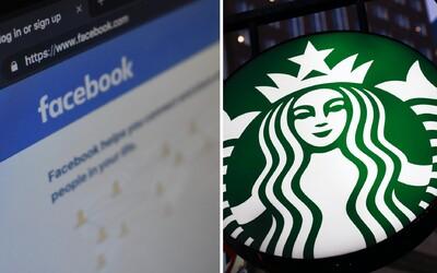 Starbucks, Pepsi i Coca-Cola. Velké firmy se odvracejí od Facebooku, protože prý neřeší násilí a rasismus.