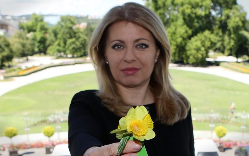 Zuzana Čaputová pripomína zbierku ku Dňu narcisov: Netradičná online zbierka zachraňuje ľudské životy.