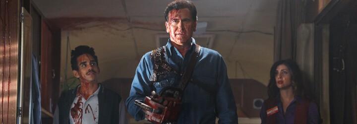 Ash vs Evil Dead nám posiela ďalší trailer plný krvi a humoru