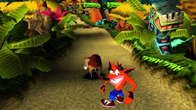 Na ktorom ostrove žije Crash Bandicoot?