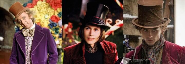 Timothée Chalamet hraje Willyho Wonku. Zobrazí mladší verzi postavy, kterou ztvárnil i Johnny Depp