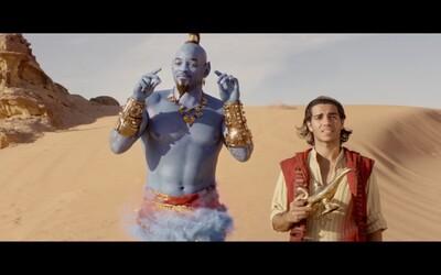 Will Smith si v Aladinovi kradne všetky scény. Vizuálne očarujúce dobrodružstvo nadchne starých aj nových divákov (Recenzia)