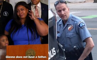 Matka dítěte George Floyda poprvé promluvila: Ve finále půjdou policisté za rodinami, moje dcera už otce nemá.