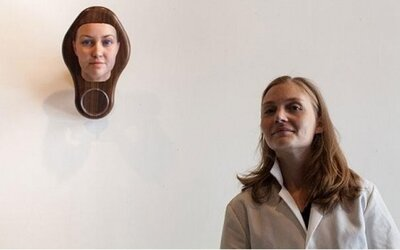 3D tváre ľudí vytvorené z údajov DNA