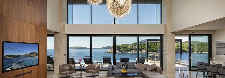 Táto moderná vila na chorvátskom pobreží je na predaj za 5 200 000 eur