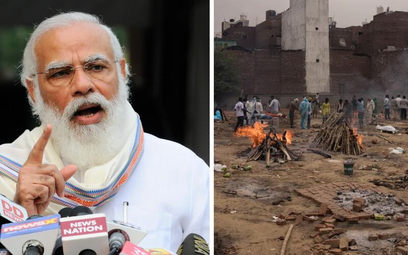 Indické nemocnice zkolabovaly, premiér zatím řeší výstavbu megalomanského vládního komplexu.