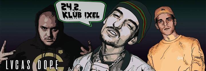 Konex a Grimaso prinášajú do klubu IXEL nový formát párty. Prvým hosťom je Lvcas Dope