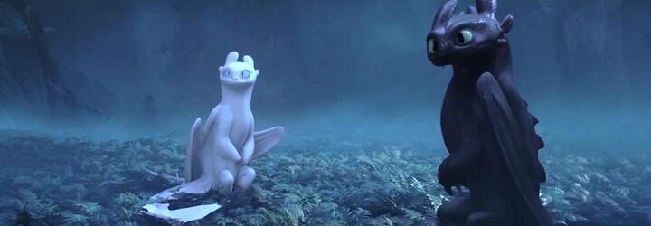 Škyťák objevuje ukrytý svět draků a Bezzubka si našel přítelkyni. Jak vycvičit draka 3 vyráží dech úžasným trailerem
