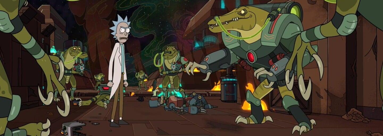 4. série Ricka a Mortyho bude šílená! Zábavný trailer odhaluje nové planety, mimozemšťany a Rickovy hlášky
