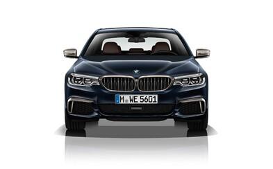 400 koní, 6 válců a až 4 turba. BMW má v novém M550d nejsilnější naftový šestiválec na světě