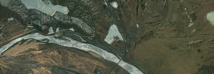 Jediné místo spojující Severní Koreu s Ruskem. Prohlédnout si ho můžete díky Google Earth