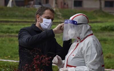 Igor Matovič: Zdravotníci chýbajú na 37 % odberných miestach. Zaberme spolu, inak nám zostáva totálny lockdown.