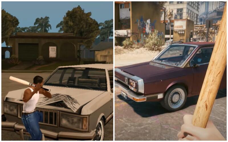 Vtipné video porovnáva fyziku Cyberpunku s GTA San Andreas z roku 2004. Hádaj, ktorá hra je na tom lepšie.