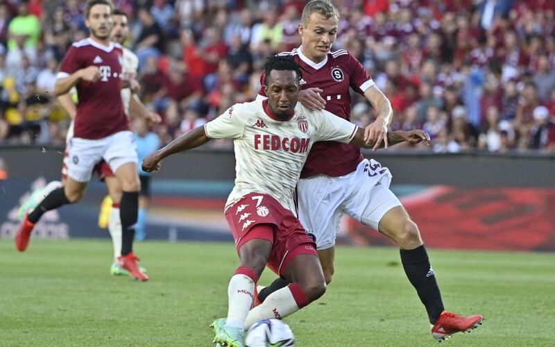 Sparta znovu prohrála první zápas předkola Ligy mistrů. Podlehla Monaku 0:2.