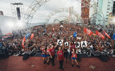 450 tisíc lidí na jednom koncertě. Major Lazer v kubánské Havaně zažili neskutečnou atmosféru