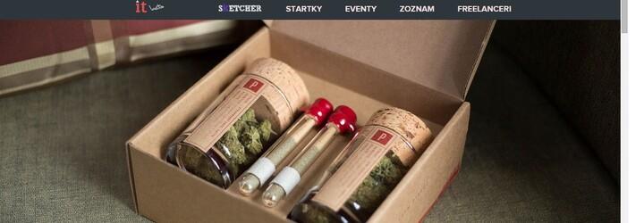 Luxusná donášková služba marihuany vytvorená pre skutočných fajnšmekrov
