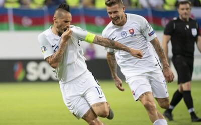 Slovensko víťazí v kvalifikácii nad Azerbajdžanom a udržuje si šance na postup na majstrovstvá Európy 2020