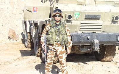46-ročný vojenský veterán: Krajiny ako Slovensko, ktoré sú na tom ekonomicky dobre, musia niečo spraviť pre mier