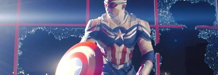 Svet Marvelu má nového Captaina America. Sam v médiách rozniesol vládu USA a dal černochom hrdinu, na ktorého môžu byť hrdí