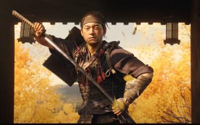 Ze samuraje Jina se v Ghost of Tsushima stane tichý zabiják. Impozantní trailer slibuje nejlepší samurajskou hru historie.