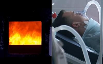 Mládež, nič si nerobíte z Covid-19? Možno skončíte v kremačnej peci, varuje vo veľavravnom videu mesto Madrid.