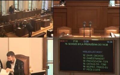 Poslanecká sněmovna živě: Zákon o ČNB či jednání zvláštních režimů v oblasti zahraničního obchodu.