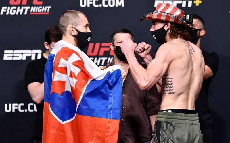 Slovenský bojovník Ľudovít Klein ve svém druhém zápase v UFC prohrál.