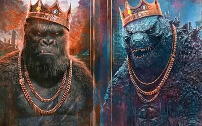 Godzilla vs. Kong láka finálnym trailerom. Vládnuť môže len jedno alfa monštrum