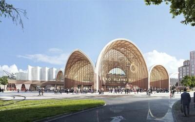 Je to oficiální: Takto bude vypadat nové hlavní vlakové nádraží v Brně.