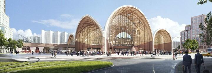 Je to oficiální: Takto bude vypadat nové hlavní vlakové nádraží v Brně