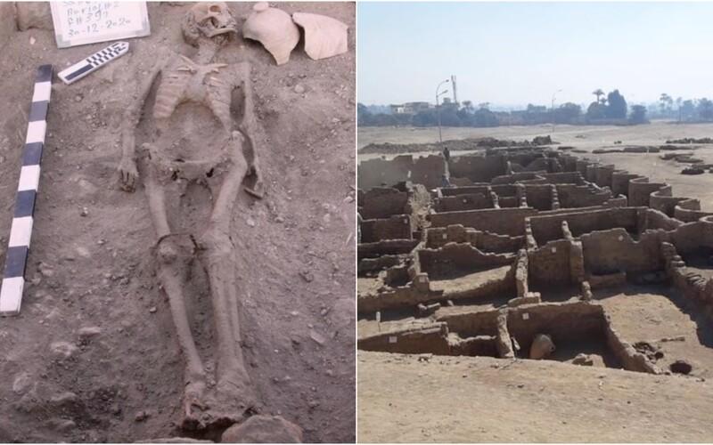 V Egyptě objevili ztracené zlaté město. Podle expertů jde o největší objev od Tutanchamonovy hrobky.
