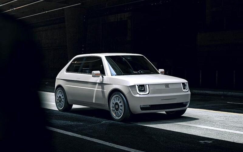 """Takto by mohol vyzerať slávny Fiat 126 """"Maluch"""", keby vznikol v dnešnej dobe."""