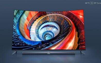 4K rozlíšenie, 65-palcov a zahnutá obrazovka. Xiaomi odhalilo nový televízor s iba 5,9 mm hrubým telom z kovu