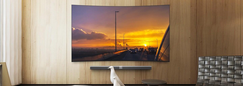 4K rozlišení, 65 palců a zahnutá obrazovka. Xiaomi odhalilo nový televizor s pouze 5,9 mm tlustým tělem z kovu