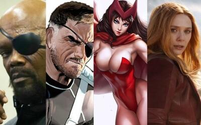 5 marveláckých hrdinů, kteří vypadají stejně jako jejich komiksové předlohy, a naopak 5, kteří se na ně vůbec nepodobají