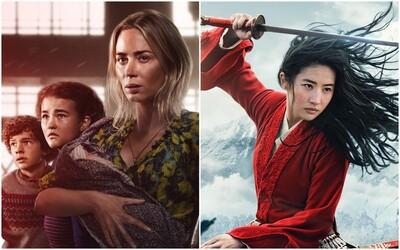 5 najočakávanejších kinopremiér v marci. Tiché miesto 2 umlčí kinosály a Mulan nás vezme do fantasy Číny