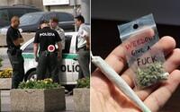 5 policajtov sme sa spýtali, ako by reagovali, keby ťa nachytali s marihuanou