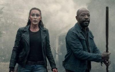 5. séria Fear the Walking Dead bude veľkolepým divadlom s padajúcimi lietadlami a všadeprítomným strachom (Rozhovor)