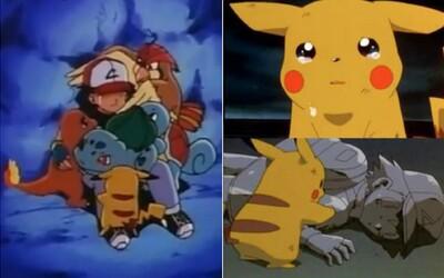 5 smutných momentov zo sveta Pokémon, pri ktorých sme ako deti skončili v slzách