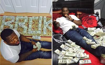 50 Cent sa na Instagrame chválil peniazmi a poputuje opäť pred súd. Sudkyňa by rada vedela, odkiaľ ich toľko má, keď vyhlásil bankrot