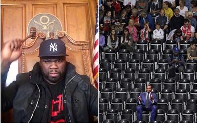 50 Cent si vystřelil ze svého rapového kolegy. Koupil 200 lístků na jeho koncert do předních řad, aby byly prázdné