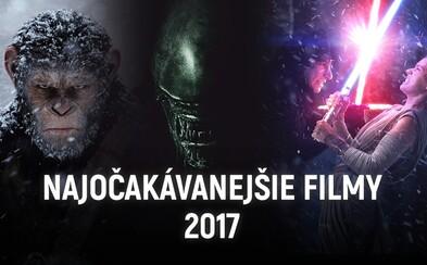50 nejočekávanějších filmů roku 2017: Návraty milovaných postav, slibné novinky a silné příběhy, které nás dojmou, ale i ohromí