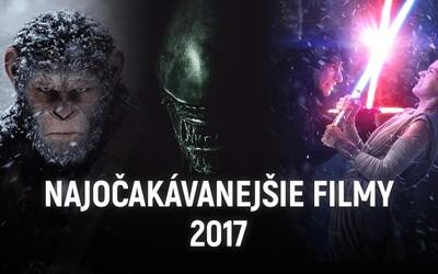 50 najočakávanejších filmov roka 2017: Návraty milovaných postáv, sľubné novinky a silné príbehy, ktoré nás dojmú, ale i ohúria