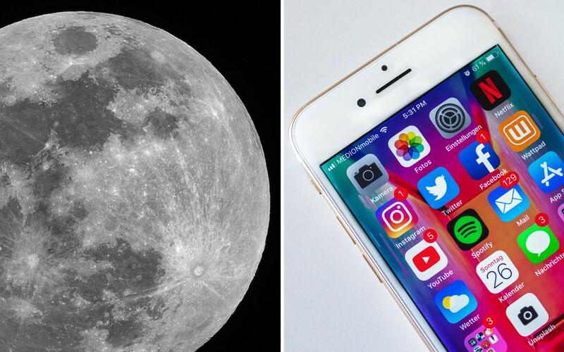 Na Měsíci vznikne 4G síť. NASA se na její výstavbě dohodla s firmou Nokia.